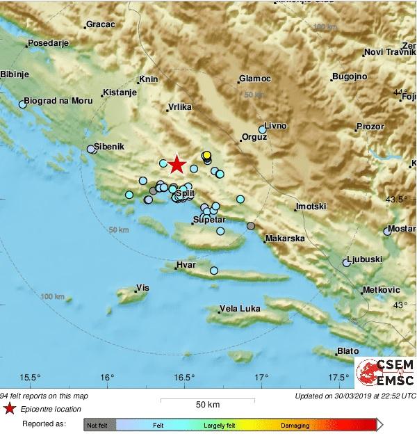 potres_karta_31032019_glasdalmacije
